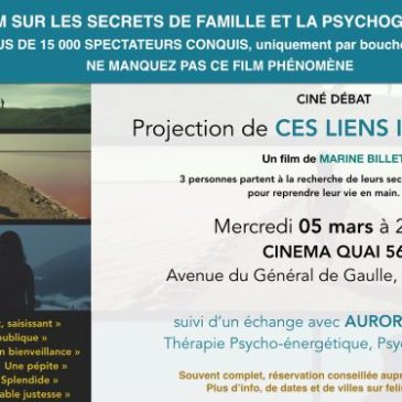 "Projection ""Ces liens invisibles"""