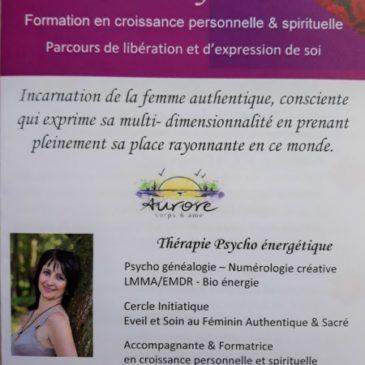 """Parcours de libération et d'expression de soi """"Cœur de femme"""""""