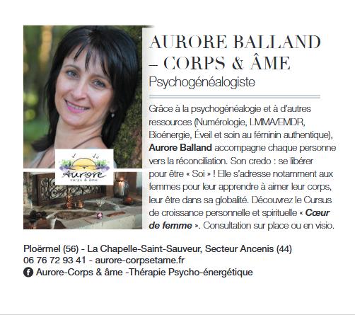 Aurore Balland Article Magazine juin 2021ELLE